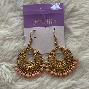 ✨ light pink drop earrings ✨